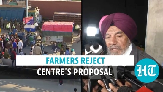 Farmers reject Centre's proposal to put three laws on hold for 1.5 years