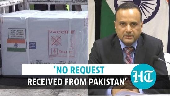 MEA on vaccine supply to Pakistan