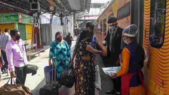 Indian Railway Catering and Tourism Corporation (IRCTC) on Friday announced it will resume its e-catering services from next month(PTI)