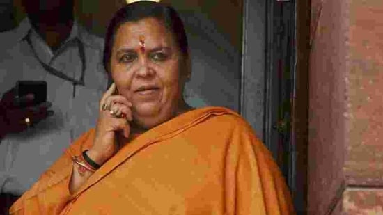 "Uma Bharti said Singh may have donated the amount out of ""reverence"".(PTI File Photo)"