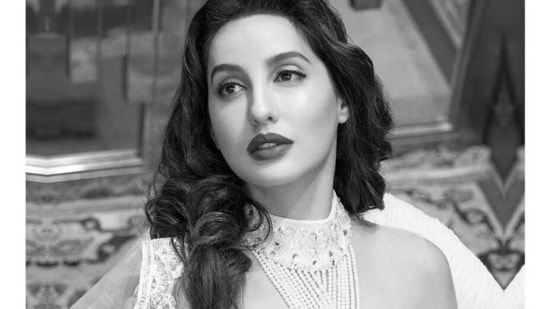 Nora Fatehi shares a black and white image(Instagram/norafatehi )