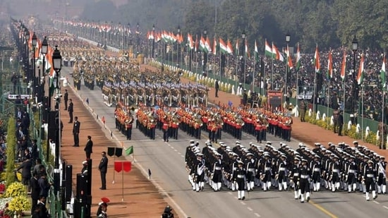 India will celebrate its 72nd Republic Day on January 26 next year, honouring the historic date when the country completed its transition towards becoming an independent republic(Sonu Mehta/HT PHOTO)