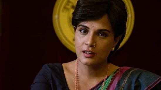 Richa Chadha in Madam Chief Minister.