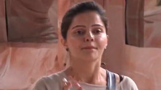 Rubina Dilaik was unapologetic when Abhinav questioned her for talking to Aly.(Colors)