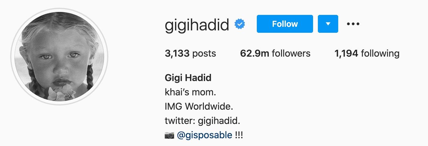23+ Gigi hadid baby name twitter ideas in 2021