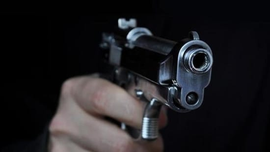 Shooting a gun in night (Pic for representation)