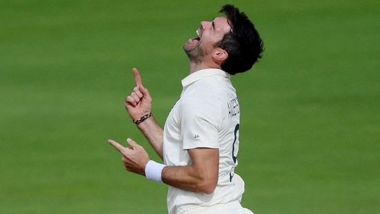England's James Anderson (REUTERS)