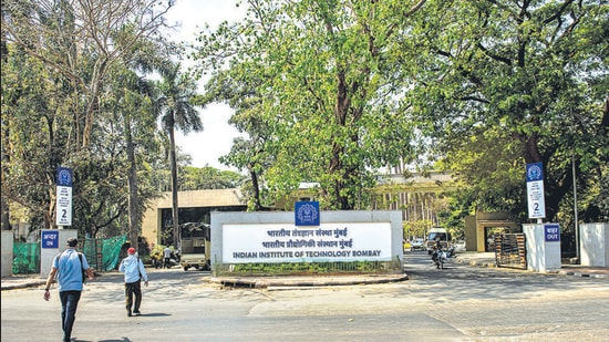 By the end of August last year, 22 graduates had lost their job offers at IIT-B. (HT File)