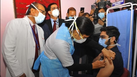 Only 35% turn up for Covid vaccine in Chandigarh
