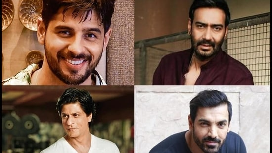 Shah Rukh Khan and John Abraham come together for Pathan, while Ajay Devgn and Sidharth Malhotra team up for Thank God.
