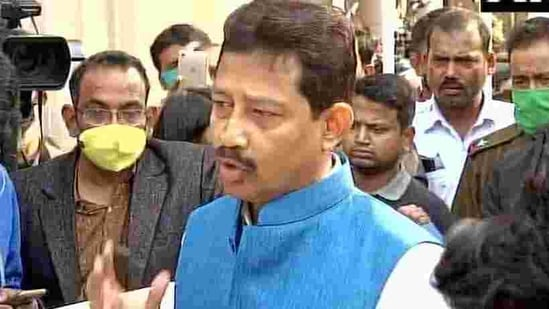 Banerjee, the MLA from Domjur who has been airing his grievances against a section of leaders of the ruling party over the past few months, is the second minister from Howrah district and third minister in the state to have resigned from the Mamata Banerjee cabinet.(ANI/Twitter)