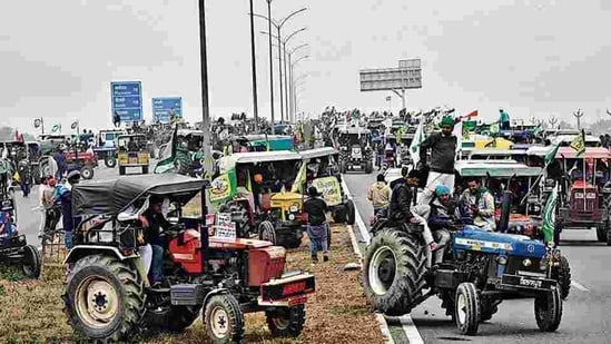 Farmers have been planning a tractor march on the occasion of the Republic Day.