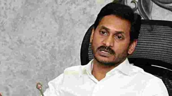 """The government of chief minister Y.S. Jagan Mohan Reddy also decided to defy the SEC's directive to remove as many as nine """"tainted officials,"""" including two district collectors and a superintendent of police, who allegedly failed to prevent irregularities in local body polls in March 2020 and curb violence.(ANI Photo)"""