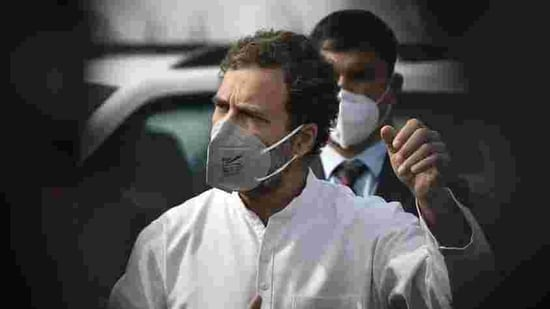 Congress leader Rahul Gandhi is on a three-day visit to Tamil Nadu from January 23 to January 25.(Sanjeev Verma/HT PHOTO)