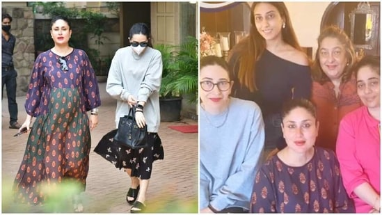 Kareena Kapoor spent her Saturday with family.