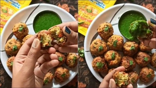 Maggi pakode? Why not. Check this lip-smacking recipe of the tea-time delicacy(Instagram/buzzforfood)