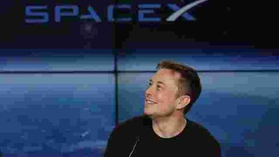 Elon Musk, founder, CEO, and lead designer of SpaceX, speaks at a news conference. (AP File Photo)