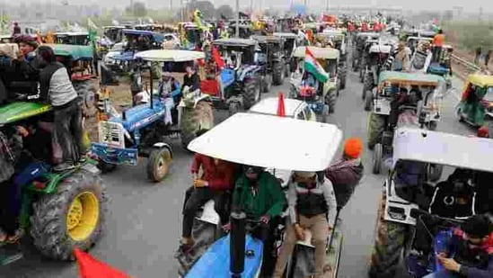 The rally will be held from Delhi's three border points -- Singhu, Tikri and Ghazipur -- and adequate security will be provided to it, police said.(REUTERS)