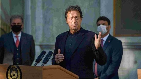 Pakistan Prime Minister Imran Khan.(AFP)