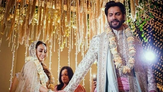 Varun Dhawan and Natasha Dalal are officially married.