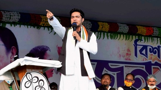 The Diamond Harbour MP, who is also West Bengal chief minister Mamata Banerjee's nephew, said he will quit politics if the Centre brings such a law.(PTI)