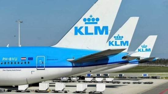 Dutch airline KLM will keep operating long haul flights, including for vaccine distribution, after agreeing with the government on softer demands for returning air crews to carry out rapid Covid-19 tests.(Reuters)