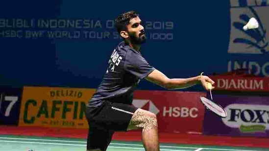 File image of Kidambi Srikanth of India.(Getty Images)