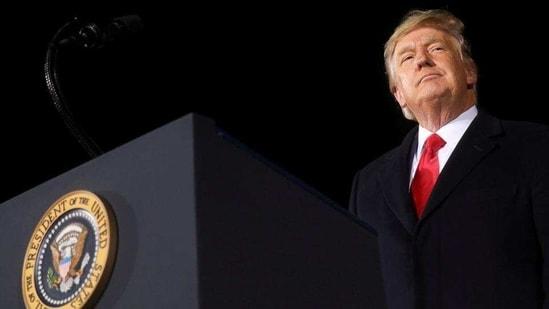 Former US President Donald Trump at a campaign rally in Dalton, Georgia, US. (Reuters/ File photo)