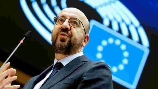 European Council President Charles Michel refused to bow to British insistence for the EU to fundamentally change its negotiating stance and cede more to UK demands.(Reuters Photo)