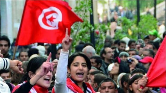 Tunisia extends curfew as Covid-19 'at a critical juncture', bans protests(Twitter/TheMosaicRooms)