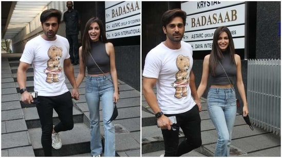 Pulkit Samrat and Kriti Kharbanda spotted at a date.