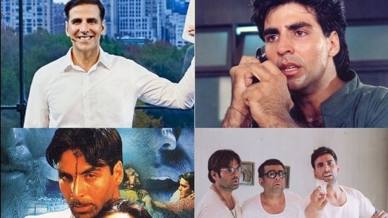 Akshay Kumar has changed himself constantly by taking up films of different genres in his career.