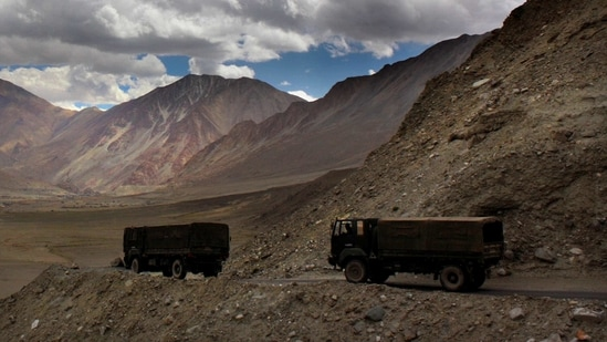 The situation in the Ladakh sector remains tense and the ongoing military and diplomatic dialogue has not yielded results.(AP)