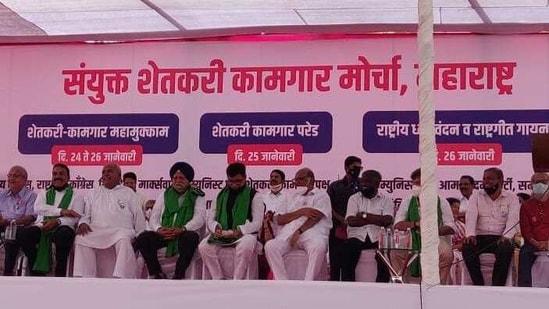 Modi govt will be left shaken, say farmer leaders at Mumbai rally   Hindustan Times