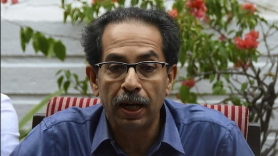 Maharashtra chief minister Uddhav Thackeray held a high-level meeting with key officials on Monday regarding resuming local train services for general public. (HT FILE)