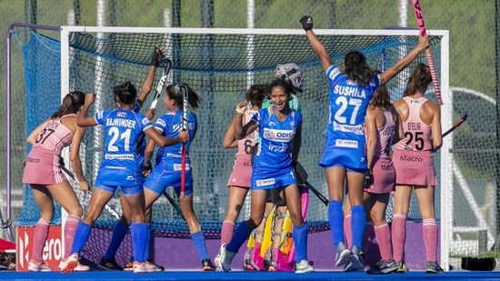 Argentina 'B' beat Indian women 2-3(Hockey India / Twitter)