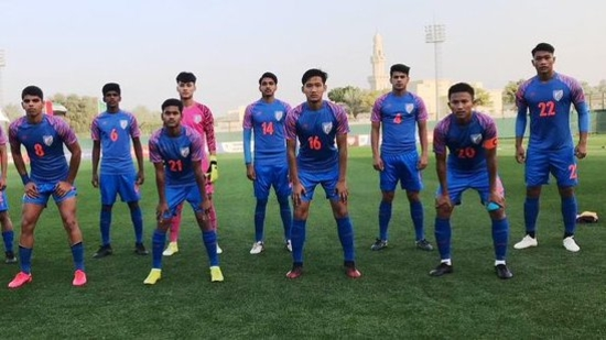 India U-16 National Team beat UAE 2-1 in a friendly match(Indian Football / Twitter)
