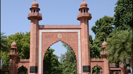 Aligarh Muslim University. (HT Photo)