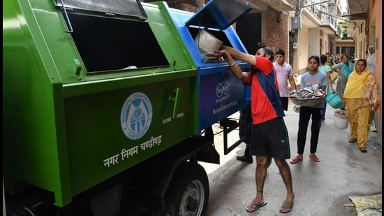 The Chandigarh municipal corporation says it has spent crores and purchased 425 vehicles for lifting the segregated waste. (Representational picture)
