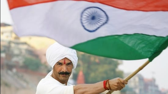 Actor John Abraham in a still from his film Satyameva Jayate 2