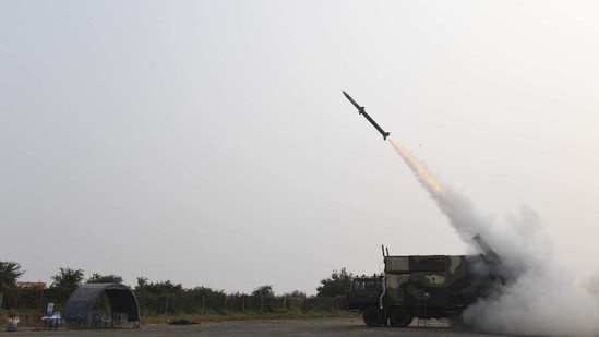 Akash-NG is a new generation Surface-to-Air Missile meant for use by IAF.(HT photo)
