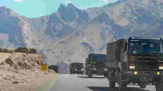India and China have been engaged in a standoff in eastern Ladakh since May 2020.(PTI)