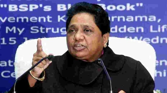 """In a tweet in Hindi, Mayawati said, """"To fulfill the demands of the agitating farmers, BSP requests the Central Government to withdraw these farm laws. I hope that no new tradition starts on Republic Day and there is no untoward incident in the national capital.""""(ANI FILE PHOTO)"""