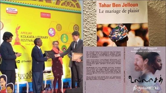 Tamil translation of French novel wins Romain Rolland Book Prize at Kolkata(Twitter/IFInde/TounkaPodcast)