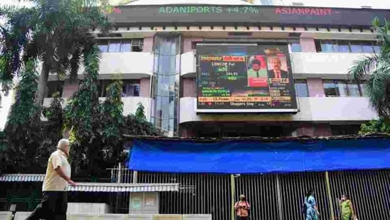 Sensex opened in green on Monday. (PTI File Photo )