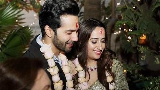 Varun Dhawan and Natasha Dalal's roka ceremony reportedly took place in February last year.