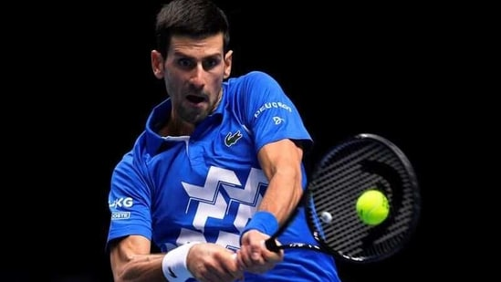FILE PHOTO: Tennis - ATP Finals - The O2, London, Britain - November 21, 2020 Serbia's Novak Djokovic in action during his semi-final match against Austria's Dominic Thiem REUTERS/Toby Melville(REUTERS)