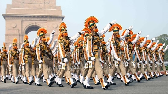 India's military might, cultural diversity, social and economic progress will be on display during the 72nd Republic Day celebrations.(ANI)