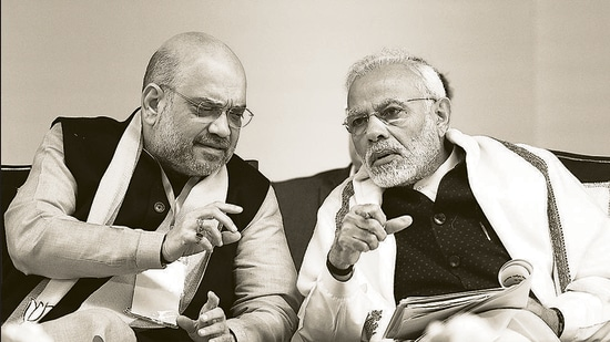 The vehement opposition the party faced between 2014 and 2016 led them to conclude that despite the party's historic win, there is an obstructionist cabal that thinks that the BJP has no right to govern India (Raj K Raj/HT PHOTO)