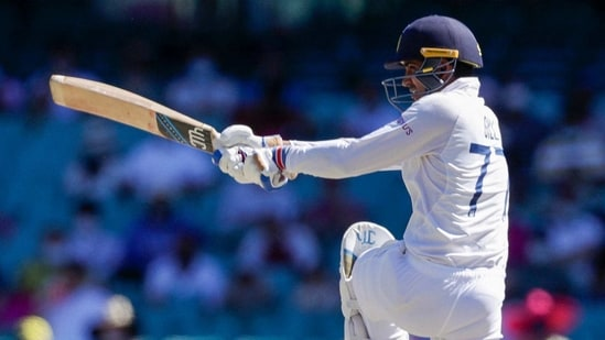 File photo of Indian batsman Shubman Gill(AP)
